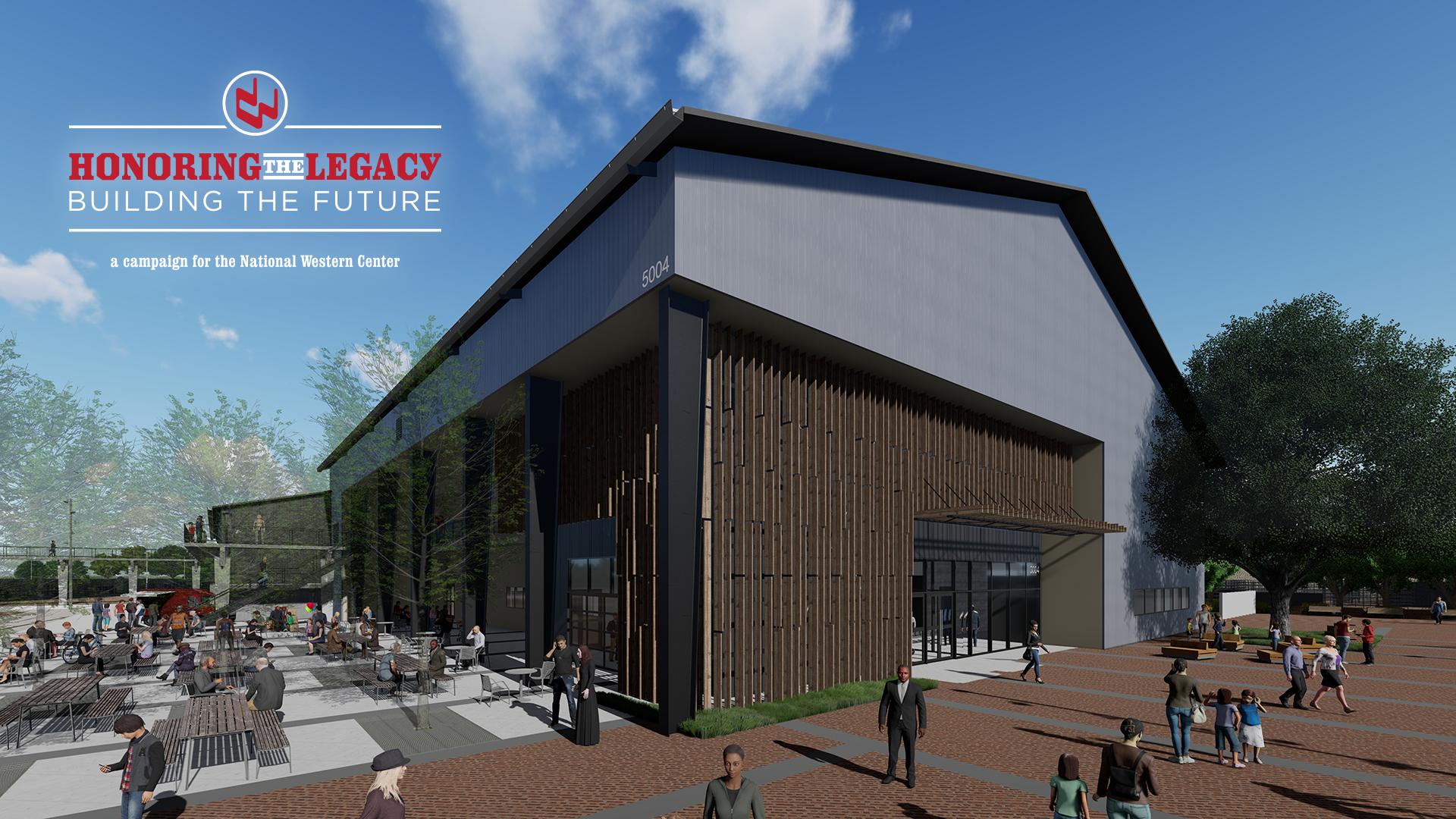 Stockyards Event Center Rendering